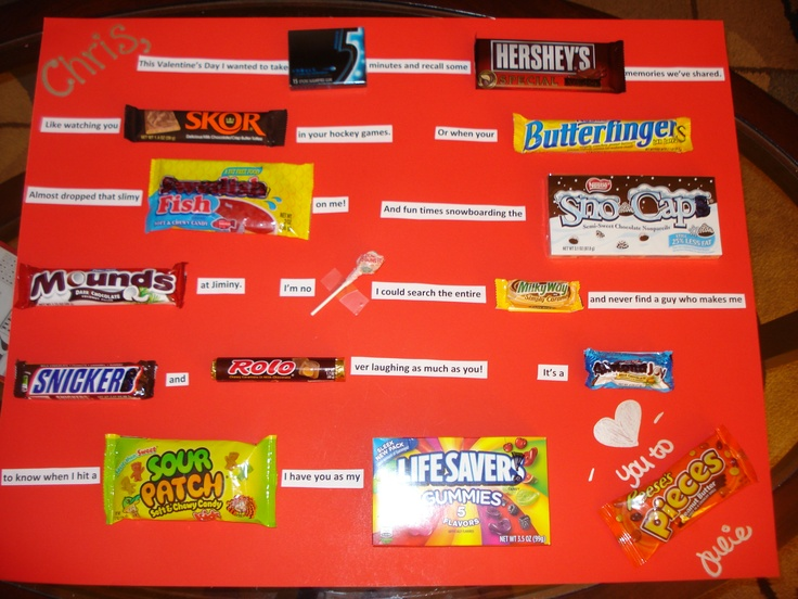 Valentine Candy Card Candy Cards Pinterest Candy