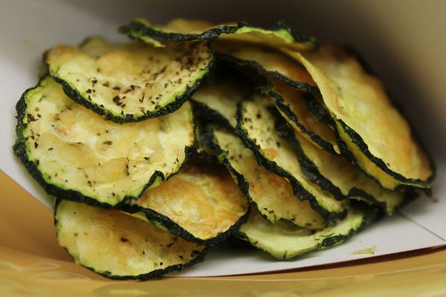 Parmesan Zucchini Chips – Low Carb Food I Make My Soldier: Snacks