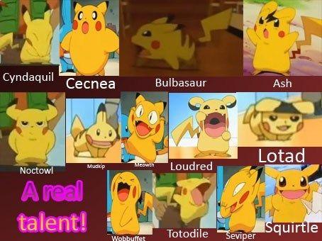 Pikachus Talent