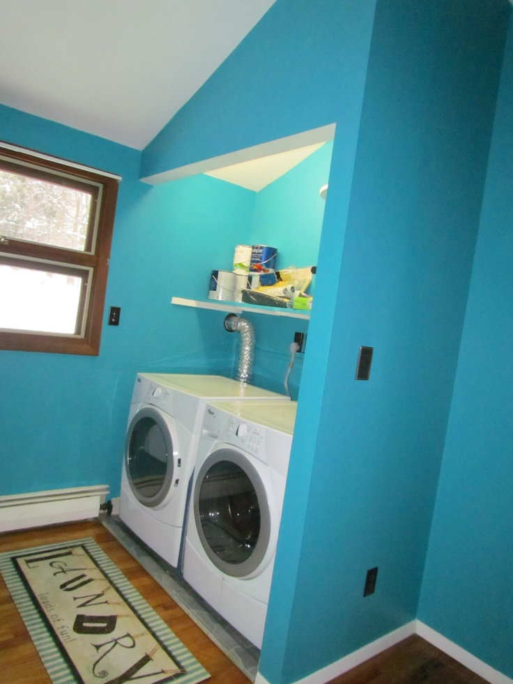 laundry room painted in valspar catwalk my projects on paint for laundry room floor ideas images id=11995