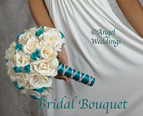 Best 25+ Teal Wedding Flowers Ideas On Pinterest