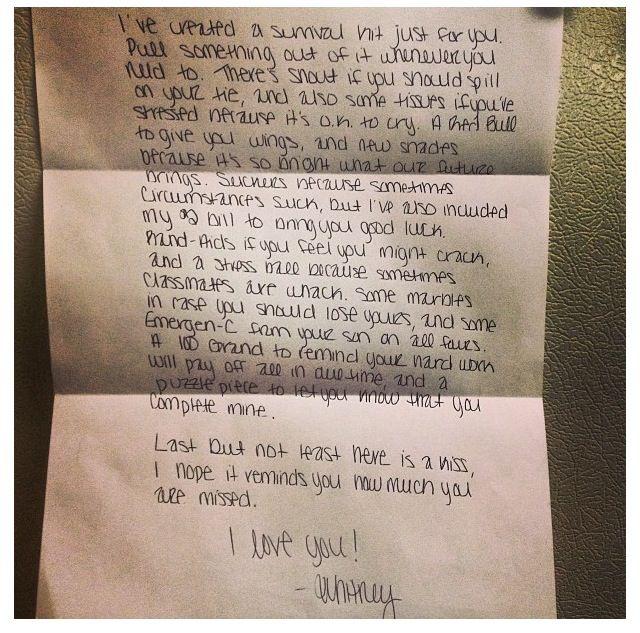 Boyfriend Survival Kit Poem Cute Ideas Pinterest
