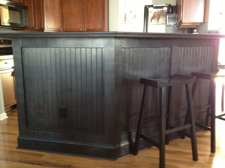 Kitchen Bar Love The Black Beadboard Kitchen Chaos