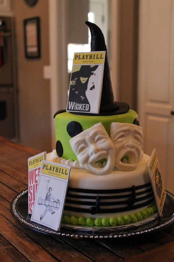 Broadway Cake Theatre Themed Cake For All Your Cake