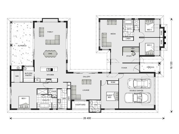 Mandalay 338 Home Designs in New South Wales GJ Gardner