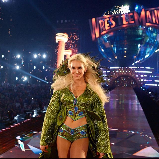 Image result for charlotte flair peacock