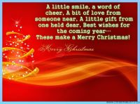 Great Christmas Quote – Merry Christmas And Happy New Year 2018