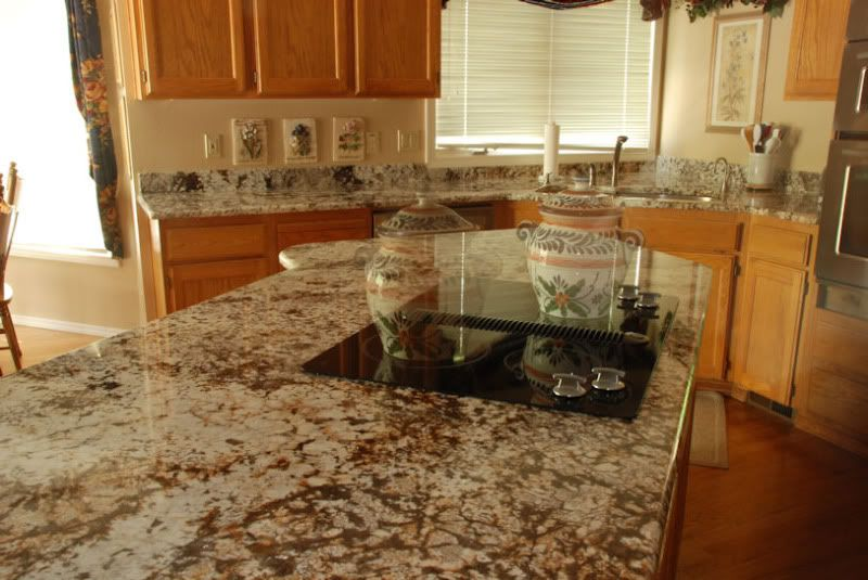 Granite Countertop to go with Maple Cabinet? | Ideas for ... on What Color Granite Goes With Honey Maple Cabinets  id=71632