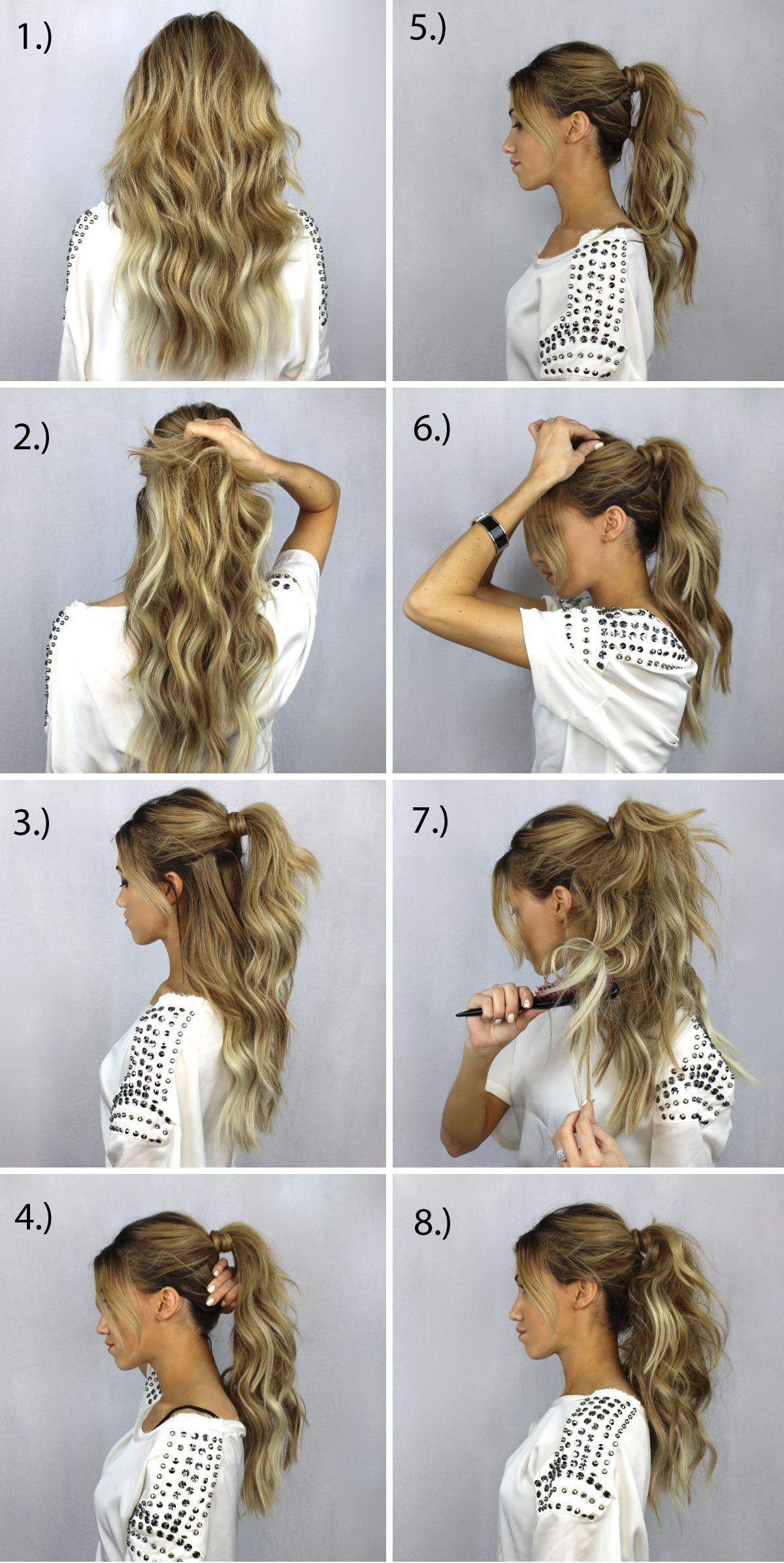 Fake your ponytail Lets see if my hair does this