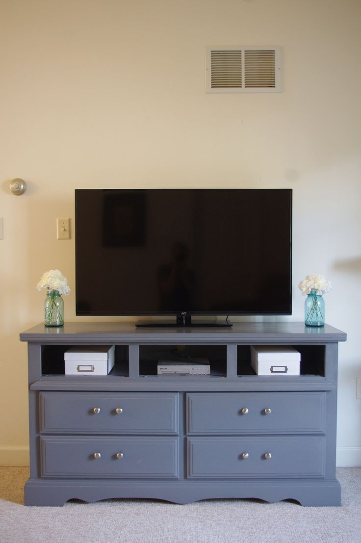 image result for how to turn a dresser into a tv stand | diy