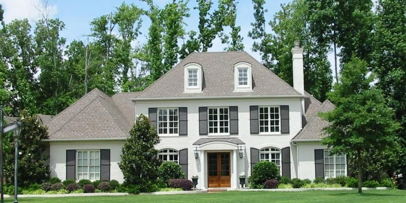 Two Story 5 Bedroom, 4.5 Bath French Traditional
