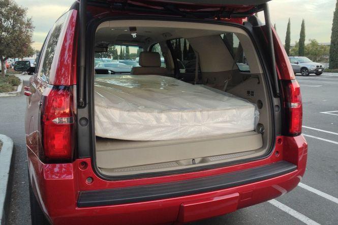Image Result For Full Size Mattress In Minivan