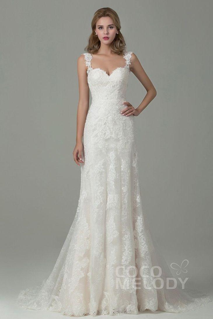 Champagne Lace Wedding Dresses Best Wedding Dress Straps ideas