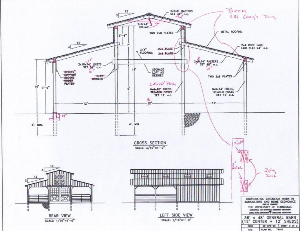 Monitor Barn Plans