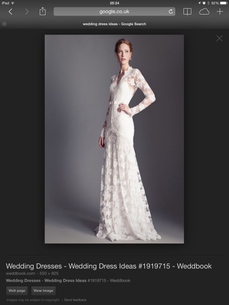 I adore this but not sure my body shape would work  Wedding