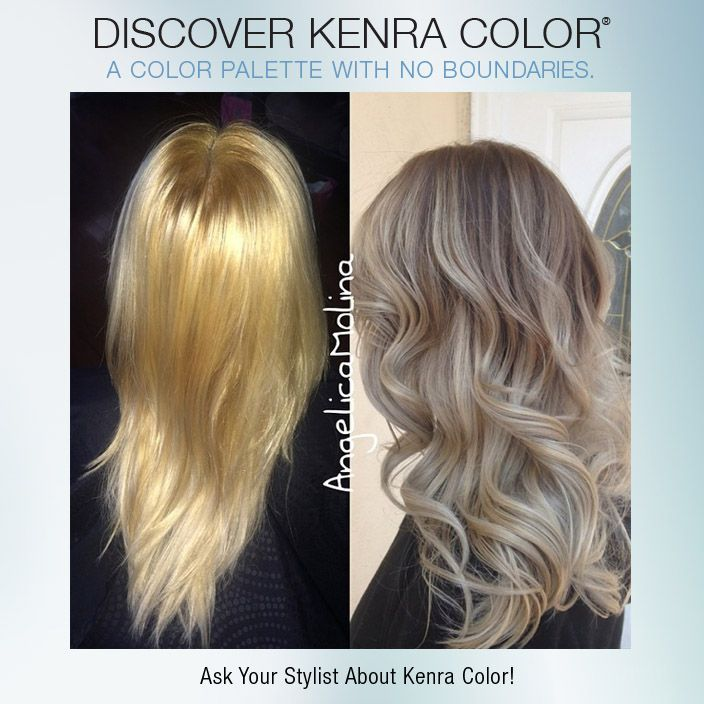 Kenra Color Silver Metallics On Pinterest Silver Hair