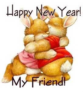 friend happy new year