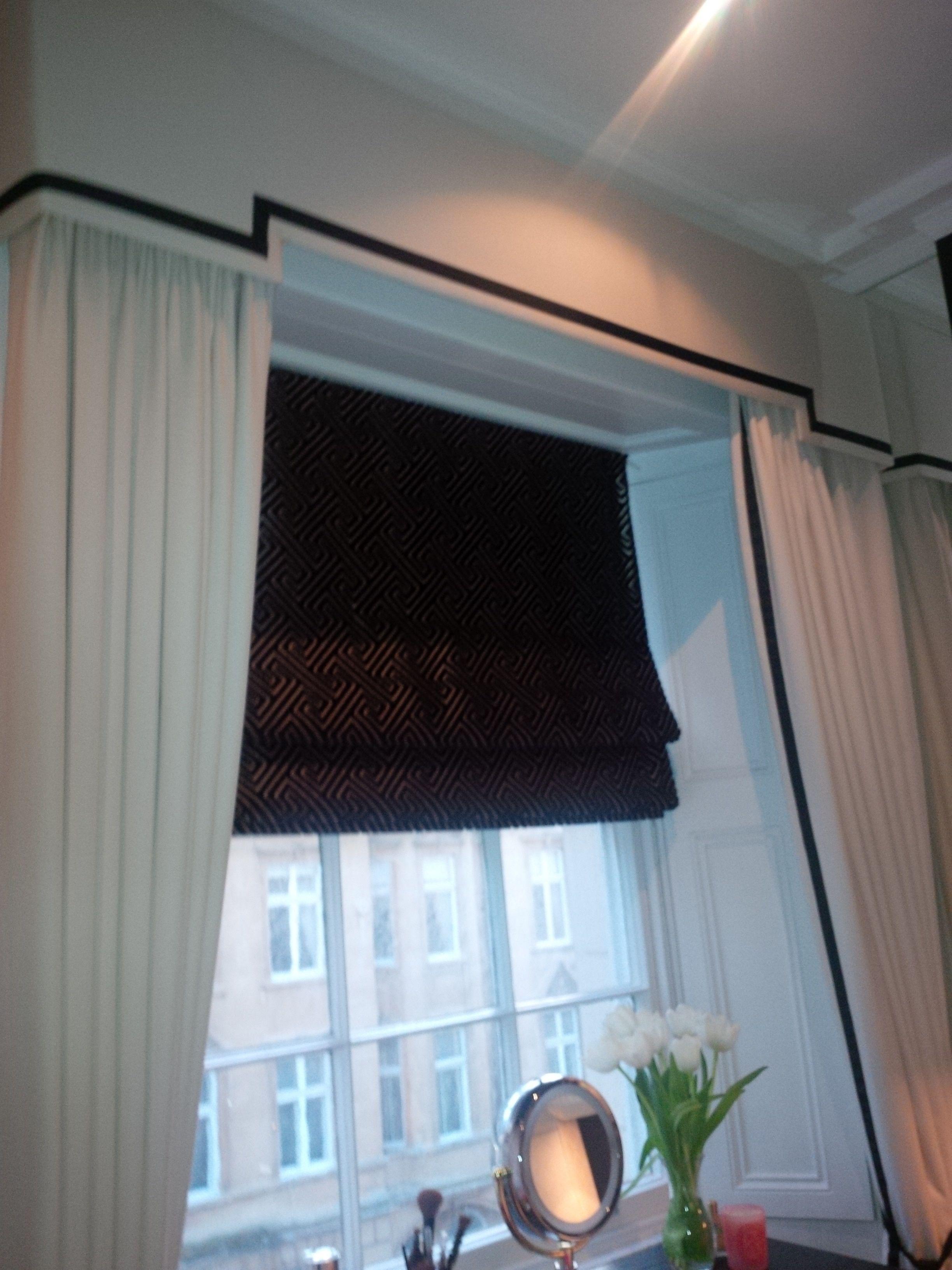 Dress Curtains Pelmet Roman Blind Add Some Sheer