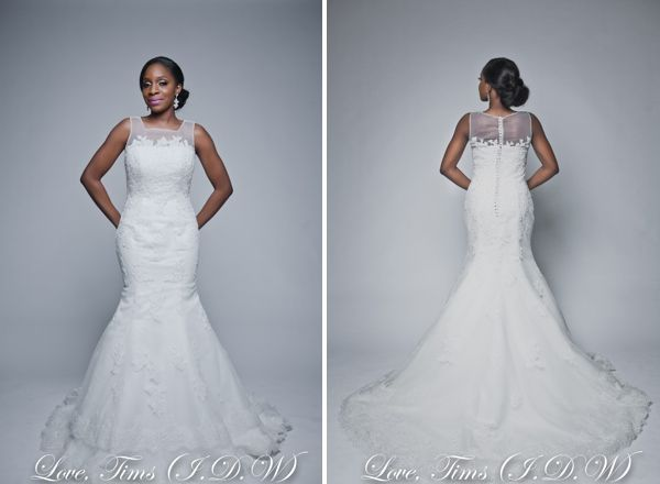 Illusion Neckline By I Do Weddings Nigeria