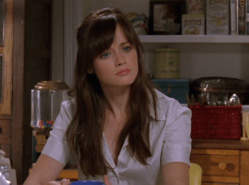 Rory Gilmore season 7 HairMakeup Pinterest Rory