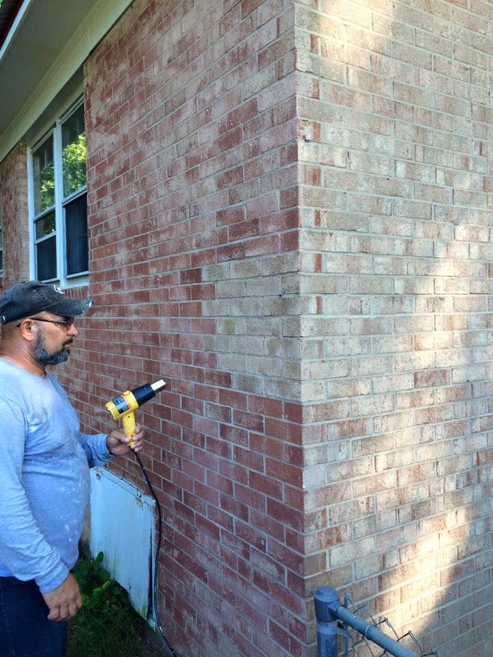 Brick Staining Technology Home Pinterest Bricks