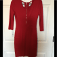 Cluny sleeve red bodycon dress nwt nwt bodycon dress gold and