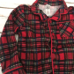 Red flannel pajamas  LITTLE ME baby boys Red plaid flannel Pajamas  Flannel pyjamas