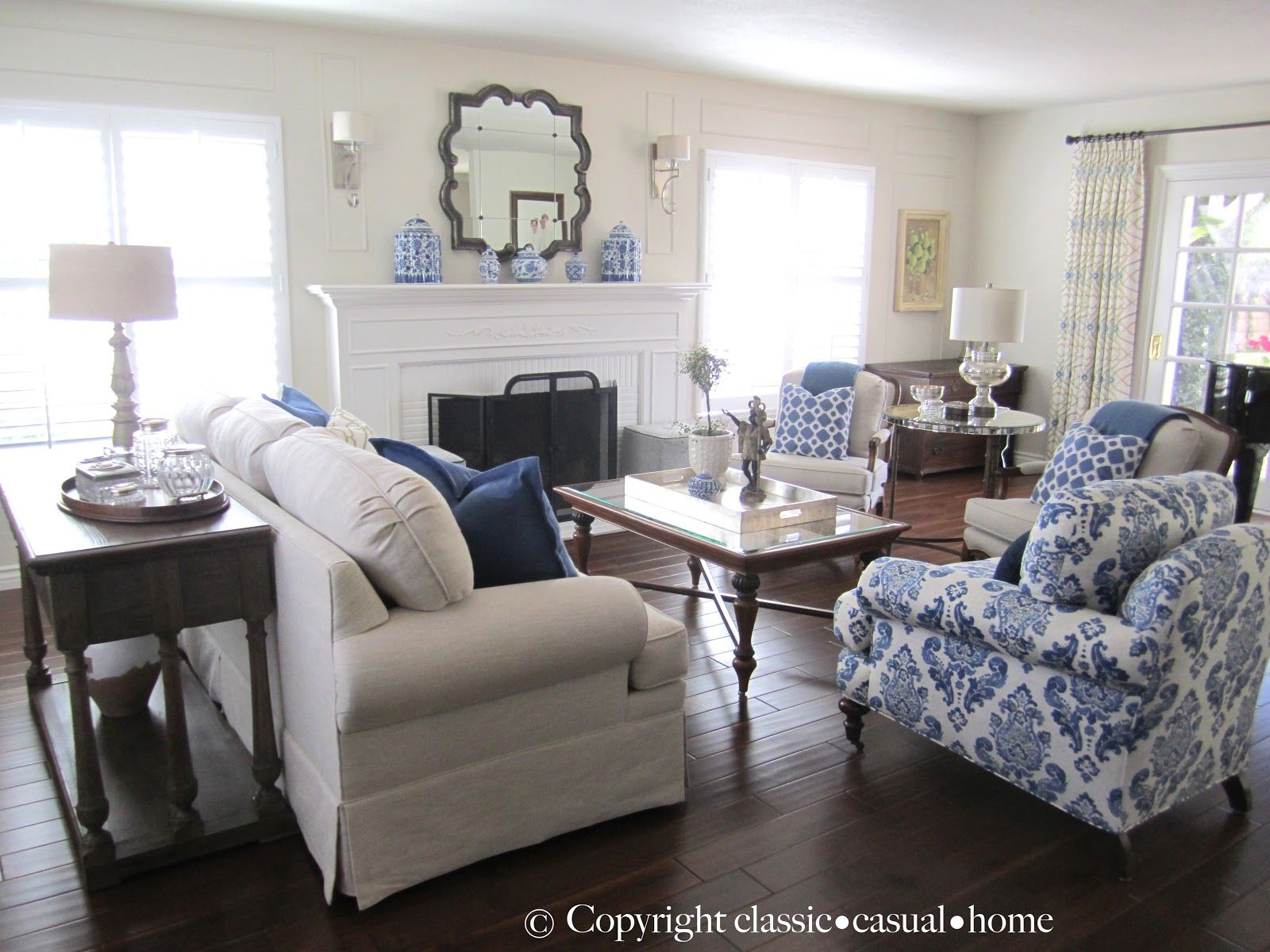 blue, white and silver: timeless design   timeless design, casual