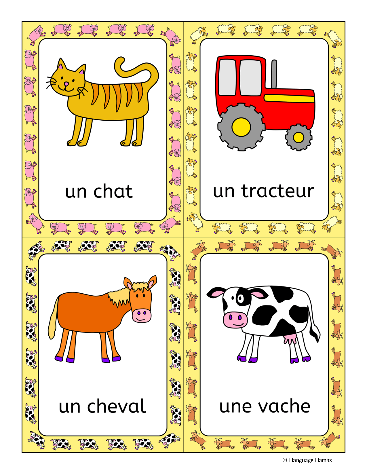 French Farm Animals