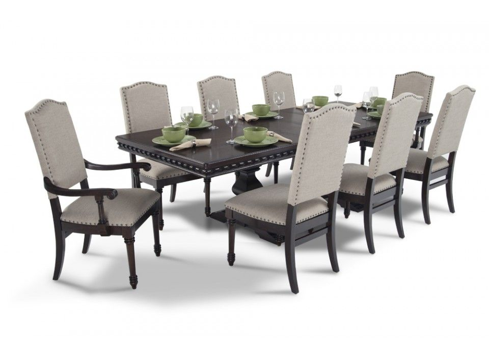 Bristol 9 Piece Dining Set   Dining room sets  Bristol and Room set Bristol 9 Piece Dining Set   Dining Room Sets   Dining Room   Bob s Discount  Furniture
