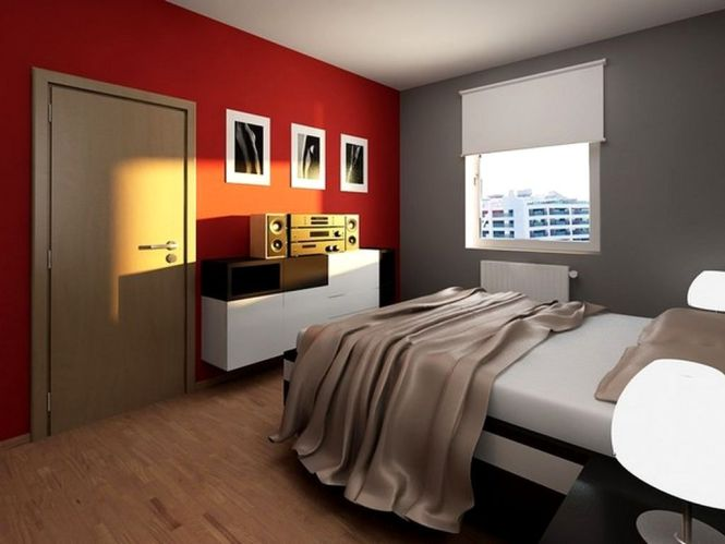Home Design And Interior Gallery Of Kids Bedroom Futuristic Contemporary Red Grey S Room Cool