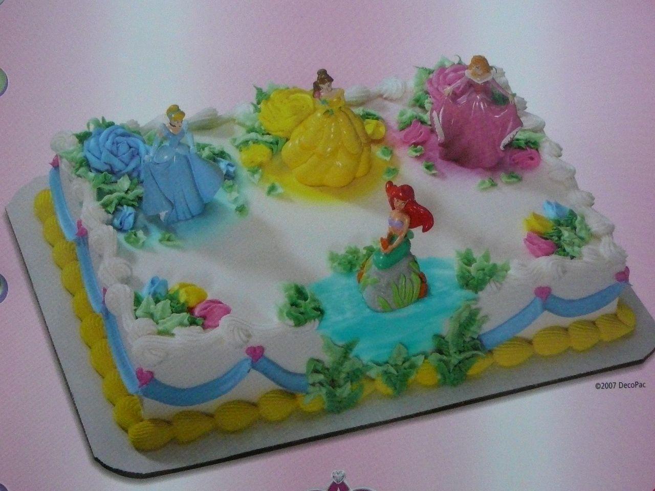 Faboulous Disney Princess Birthday Cakes