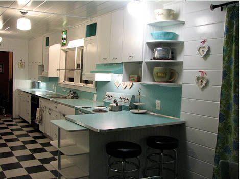 Best 25 Retro Kitchens Ideas On Pinterest Vintage Kitchen Farm Style Marble Kitchens And