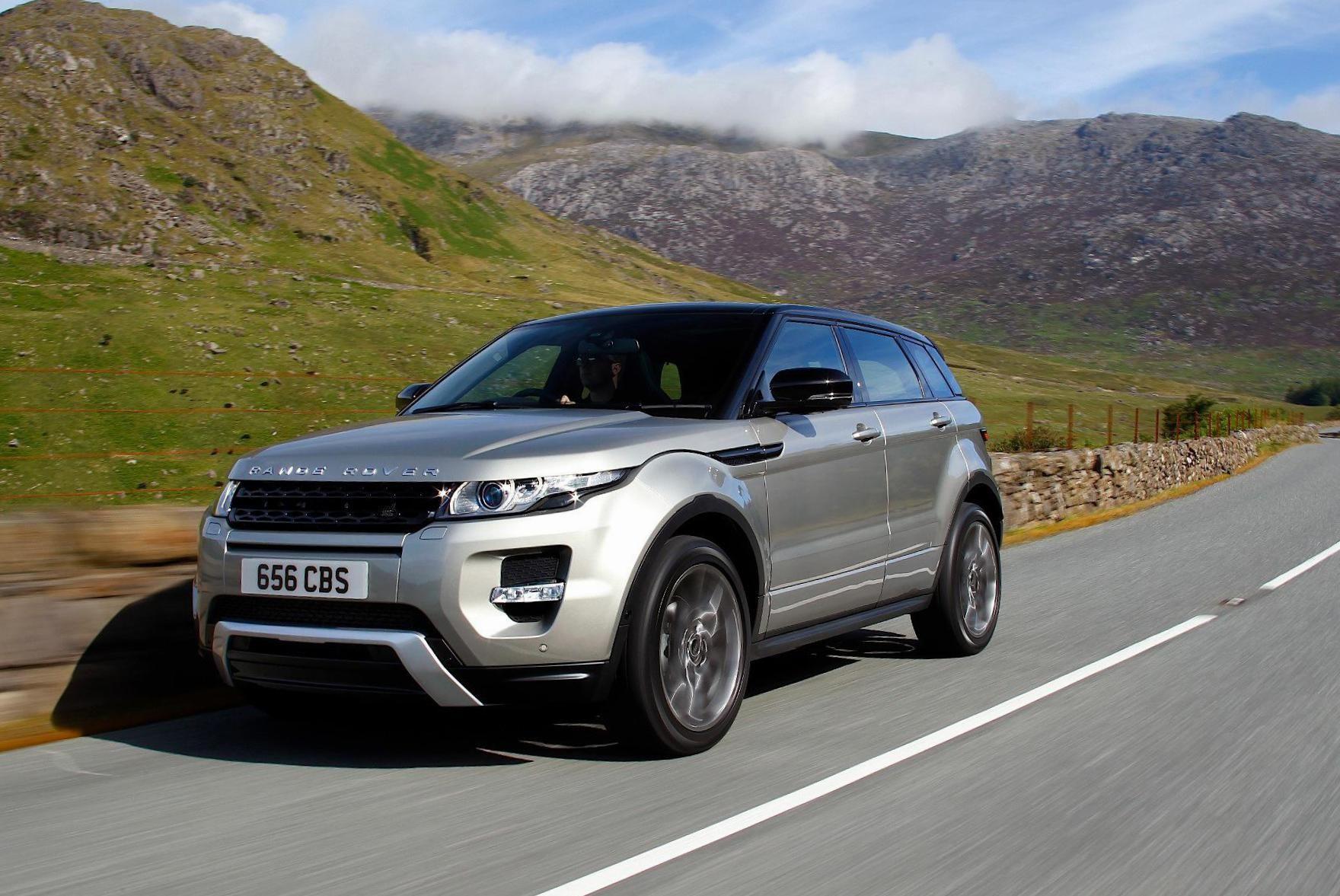 Range Rover Evoque Land Rover spec