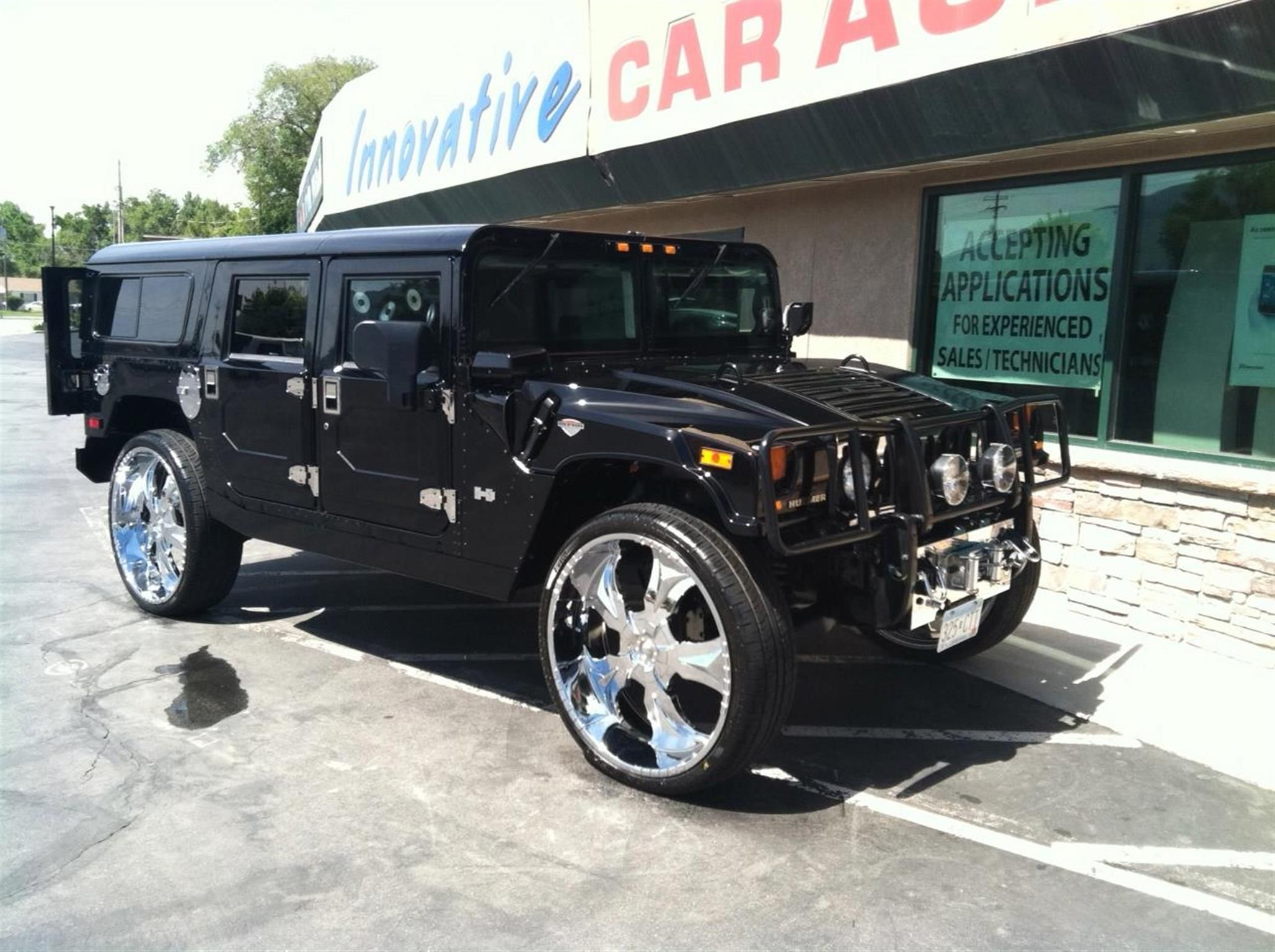 Hummer after modification and or restoration by Innovative Audio