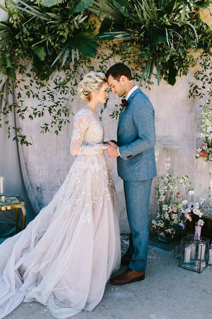 Dusty Toned Wedding Ideas Inspired by the Baltic Sea  Wedding