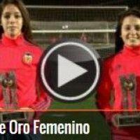 VALENCIA CF FEMENINO -- Ivana Andrés y Paula Nicart, premio Fútbol Draft 2015