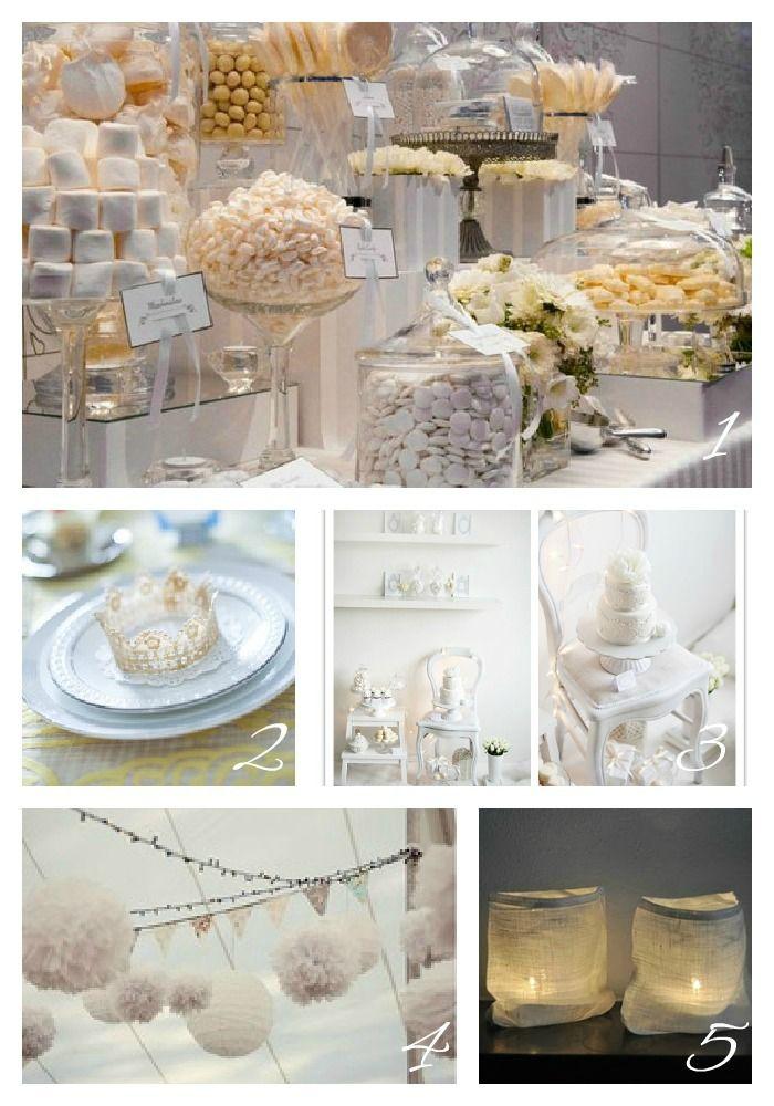 White Theme Party On Pinterest White Parties White