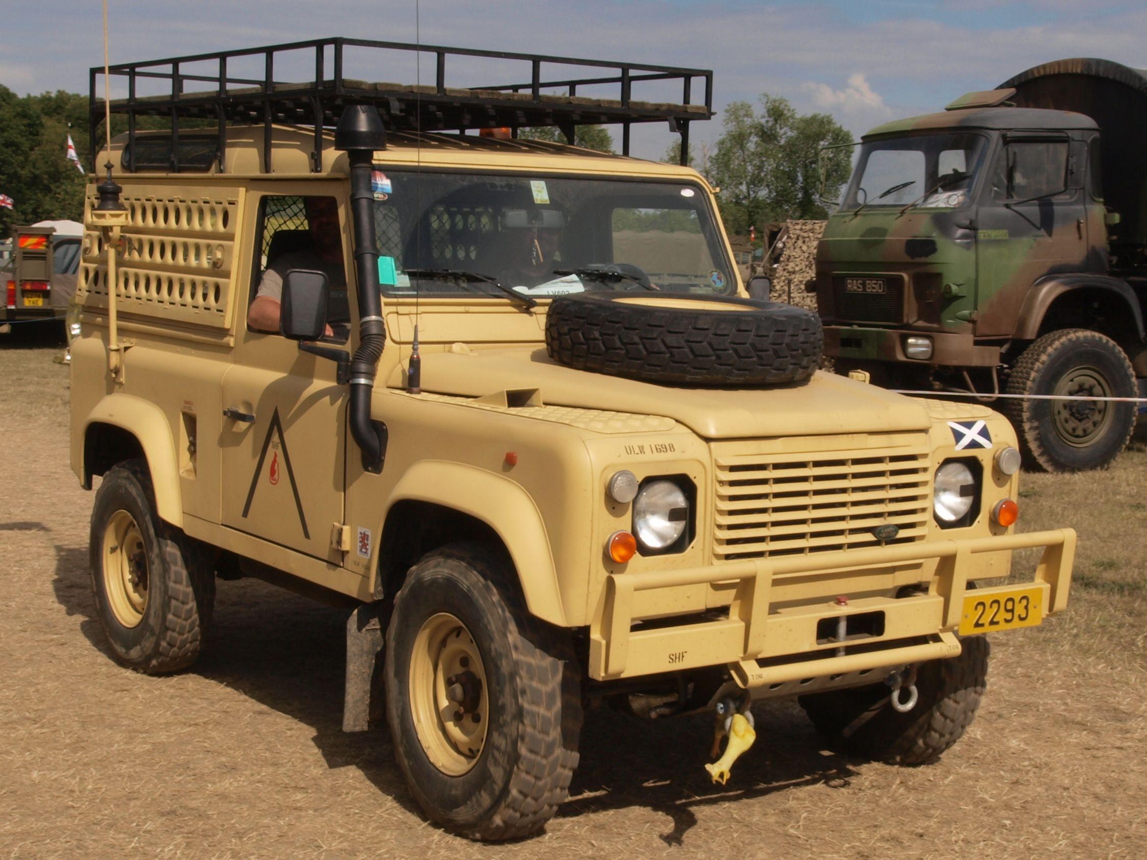 Desert Military Version Land Rover Pinterest