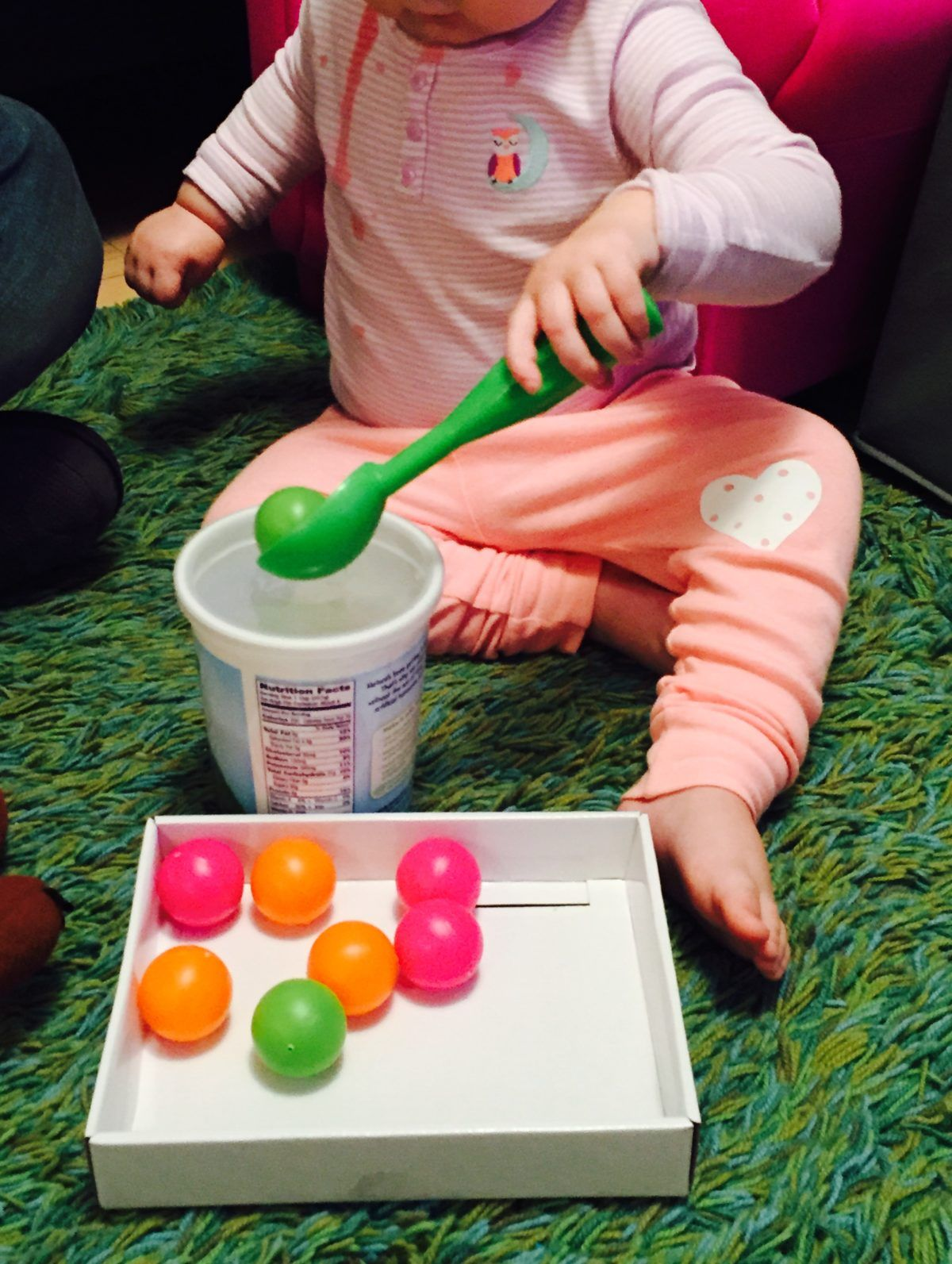 Ping Pong Balls Sorter 20 Activities For 12 18 Months Old