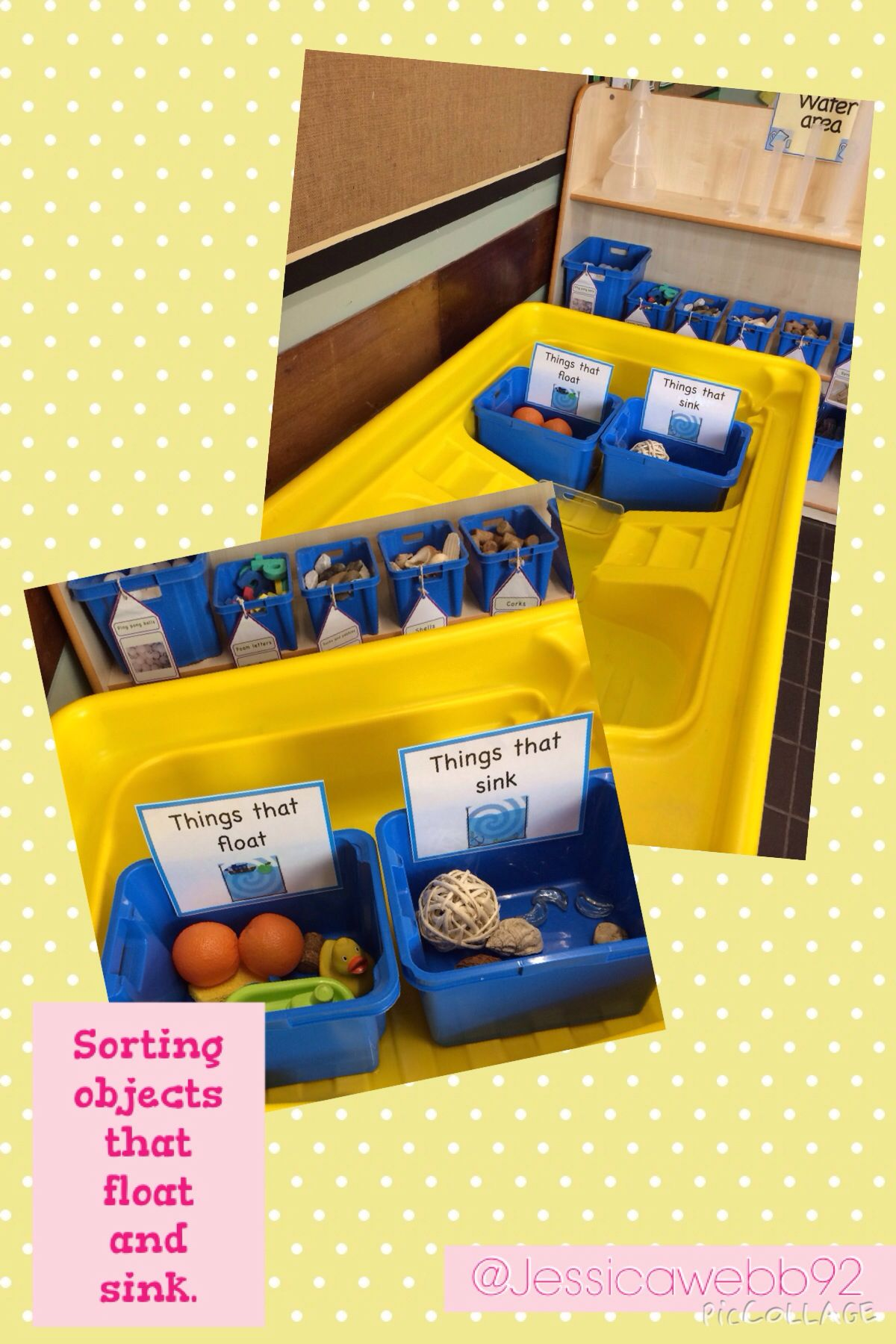 Sorting Objects That Float And Sink