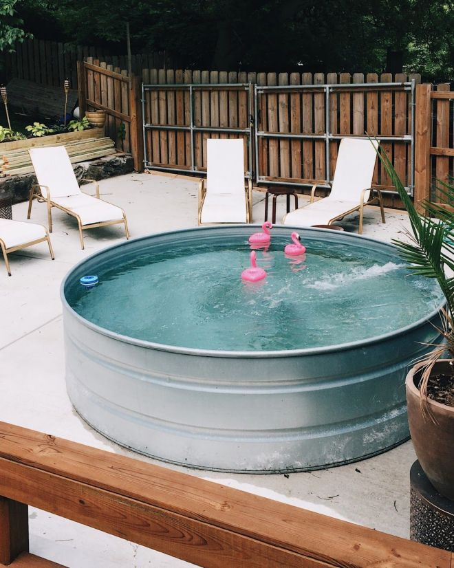 Diy stock tank pool everything you need to know hey