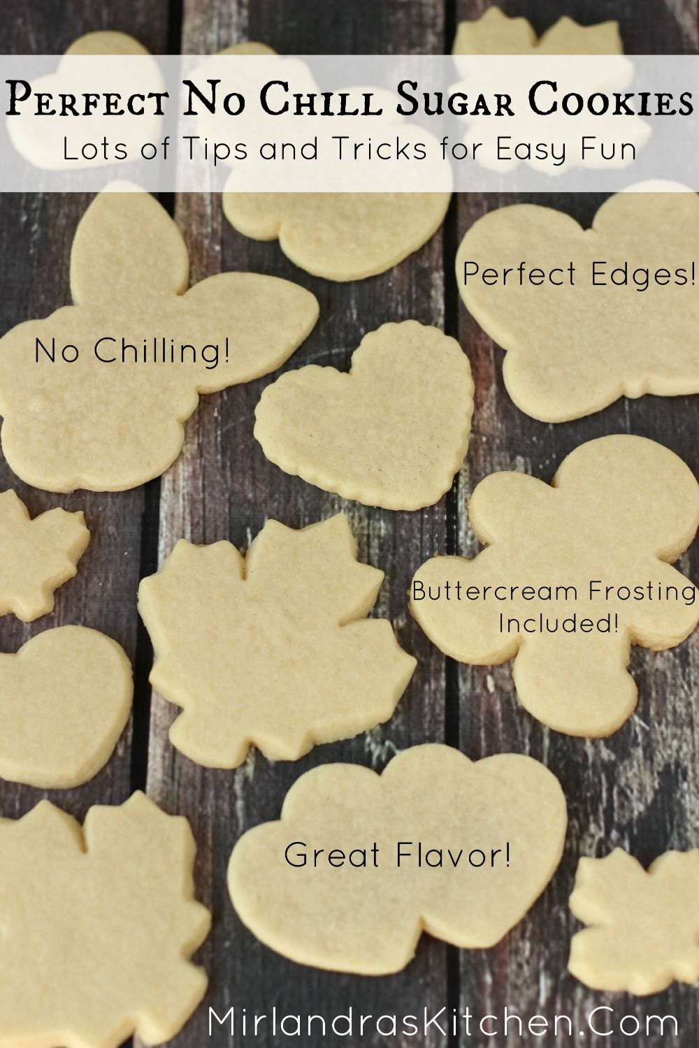 Perfect No Chill Sugar Cookies Recipe Sugar Cookies Frostings And Pipes
