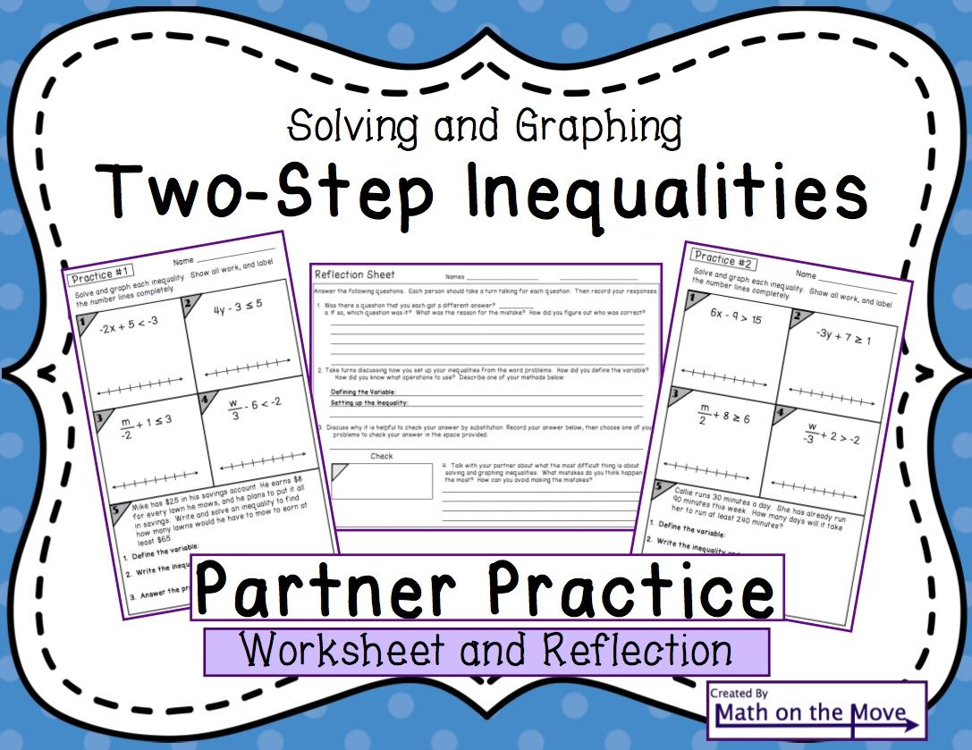 Inequalities Two Step