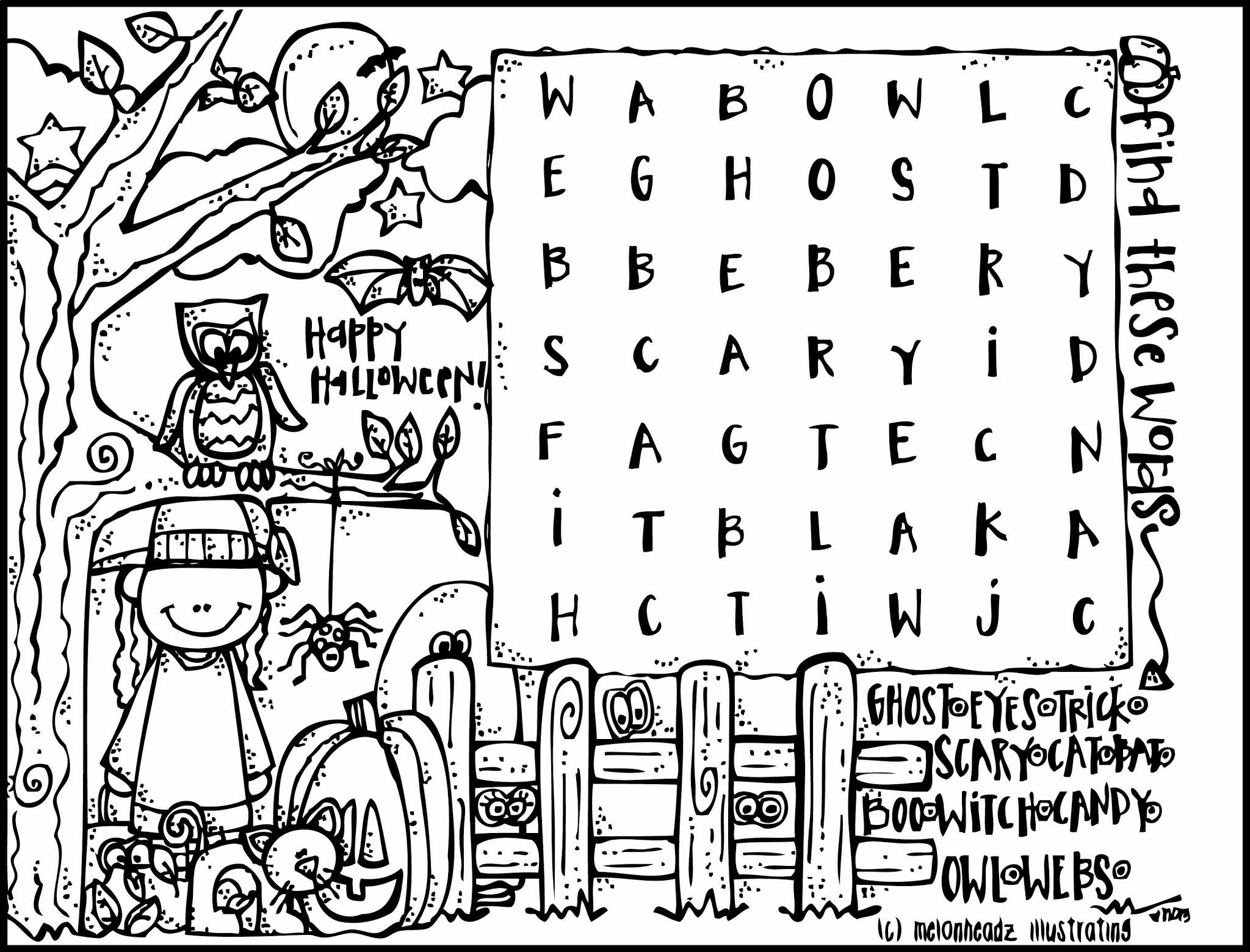 Free Christian Halloween Coloring Pages 1