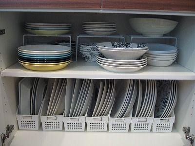 Image result for 狭いキッチン ファイルボックス 皿