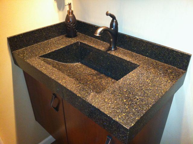 Corian Basil Bathroom Surfaces Countertops