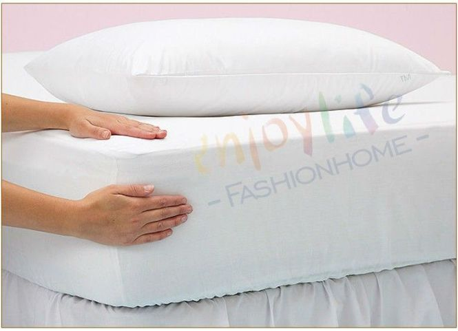 2016 Best Er Russian 140x200cm Smooth Waterproof Mattress Protector For Cover Bed Wetting And