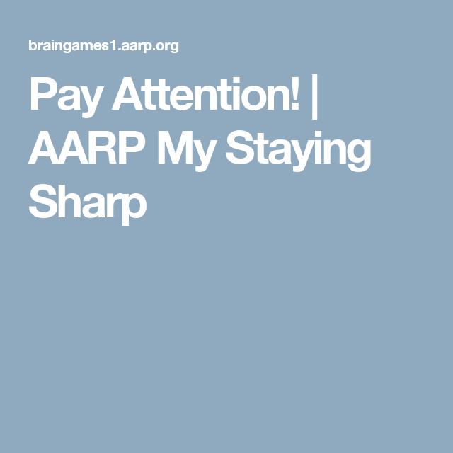 Words Sharp Aarp Split My Staying