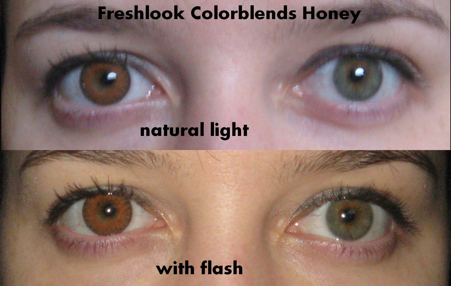 Sparkling And Glossy FreshLook ColorBlends Circle Lenses From Eyecandys FREE Shipping